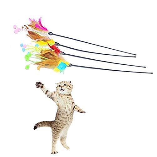 WUXXX Pelota de Juguete de Felpa para Gatos, Juguete de Gato de ...