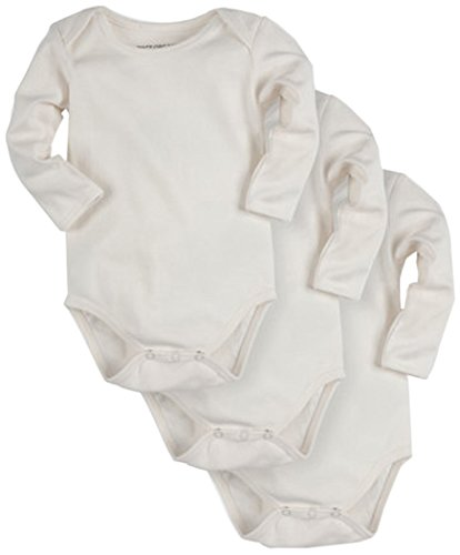 Pact Baby 3-Pack Long Sleeve
