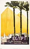 Snowae Ägypten Metall Poster Wand rostfrei Aluminium