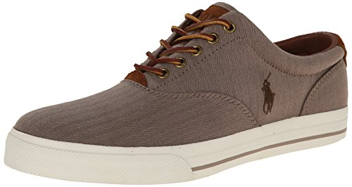 Polo Ralph Lauren Men's Vaughn, Dark Khaki, 9.5 D US