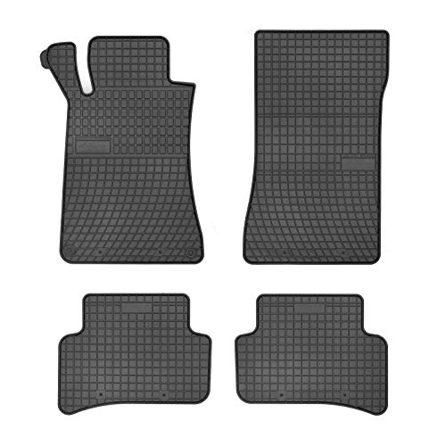 Alfombras tapices mercedes clase c a205 Cabrio a partir de 06.2016 en gamuza Deluxe negro