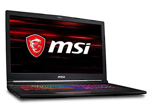 "MSI GE73 Raider RGB 8RE-466ES - Ordenador portátil Gaming de 17.3"" Full HD 120 Hz (Intel Core i7-8750H, 16GB RAM, 1TB HDD + 256GB SSD, Nvidia GeForce GTX 1060 6GB, Windows 10) Teclado QWERTY Español"