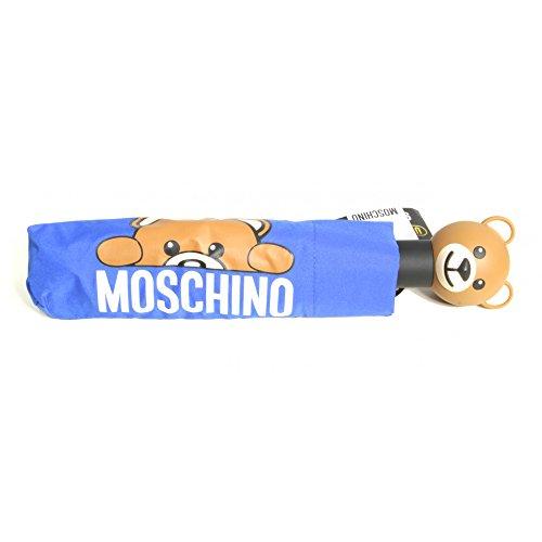 MOSCHINO Regenschirm Mod.openclose 8194blau