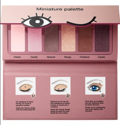 Sephora Collection Miniature Palette ~ Donut Shades