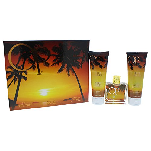 Ocean Pacific Gold 3 Piece Gift Set for Him