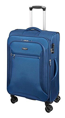 D&N Travel Line 6404 Koffer, 68 cm, 70L, blau
