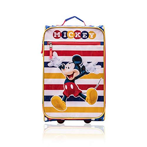 Mickey Mouse Soft-Sided Wheeled Luggage for Kids - 18 Inch [Mickey]