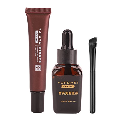 Narbe Tattoo Concealer, Vitiligo Cover Flüssiges Set Make-up Camouflage Concealer Creme für Versteckte Flecken Muttermale