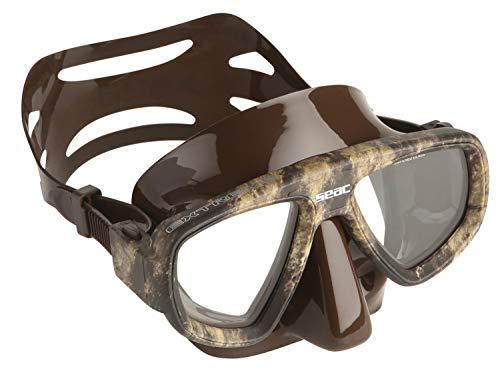 SEAC Extreme Kama Gafas para Pesca Submarina, Hombre, marrón, M/L
