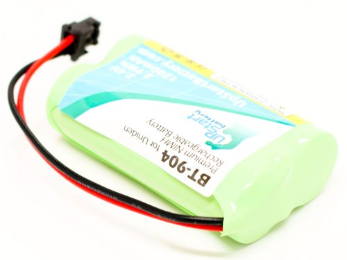 UpStart Battery AT & T 50–Batería de repuesto para At & t teléfono inalámbrico recargable (1200mAh, 2,4V, Ni-MH)