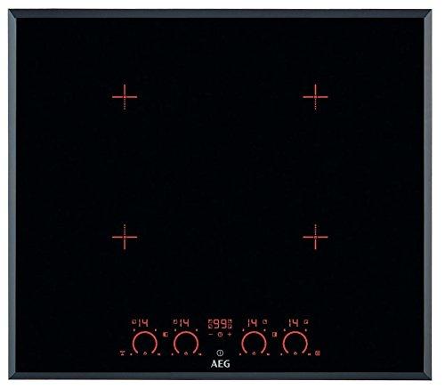 AEG - Piano cottura ad induzione HK 674406 FB finitura nero da 60cm