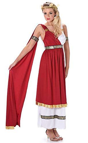 Karnival 81068 - Costume da imperatrice romana, da donna, multicolore, taglia XL