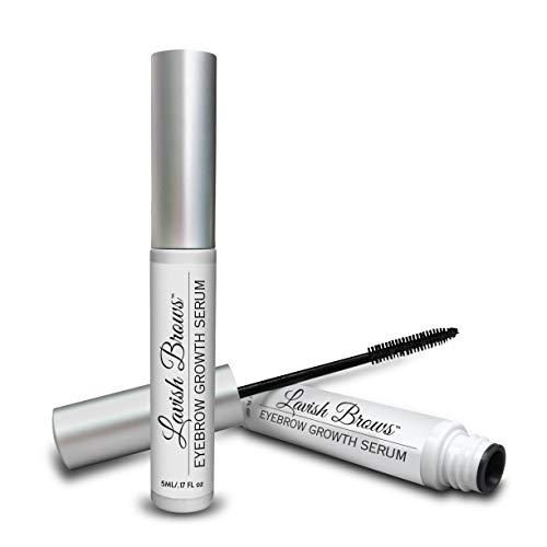 Pronexa Hairgenics Lavish Brows – Eyebrow Growth Enhancer Serum with Natural Growth Peptides for Long, Thick Eyebrows! 5ml, 2 Month Supply.