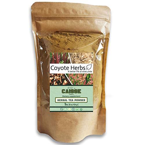 Essiac Herbal Tea Powder 4 herb Blend (454 gr. / 1 lb)