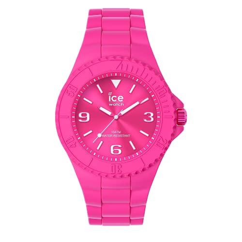 Ice-Watch - ICE generation Flashy pink - Reloj rosa para Mujer con Correa de silicona - 019163 (Medio)