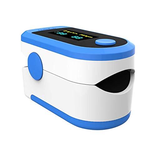 Sansee Oxymè_TRE ideal zur Schnellen Messung,OLED Anzeige die Sich mitdreht-Touch Display,für Kinder & Erwachsene (Blau)