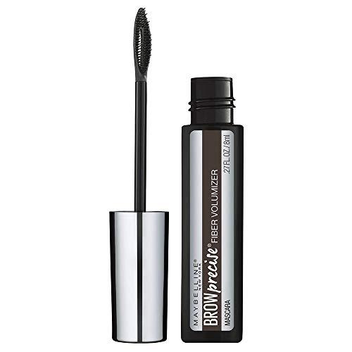 Maybelline Brow Precise Fiber Volumizer Eyebrow Mascara, Deep Brown, 0.27 fl. oz.