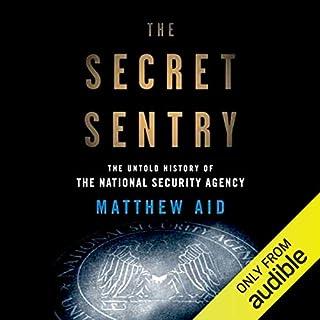 The Secret Sentry audiobook cover art
