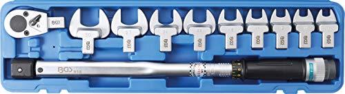 BGS 958 | Drehmomentschlüssel-Satz | 40 - 210 Nm | 11-tlg. | für 14 x 18 mm Einsteckwerkzeuge | Drehmoment-Schlüssel