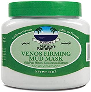 Nature's Bounty Venos Firming Mud Mask with Pure Mineral Clay Seaweed Extracts, 600 ml