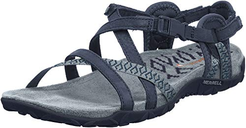 Merrell Women's, Terran Lattice II Sandal Slate 8 M