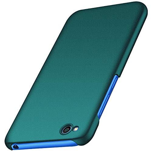 Avalri Funda Xiaomi Redmi Go, Diseño Minimalista Estuche Rígido Ultra Delgado de PC a Prueba de Golpes Resistente a Rasguños Cover para Xiaomi Redmi Go (Grava Verde)