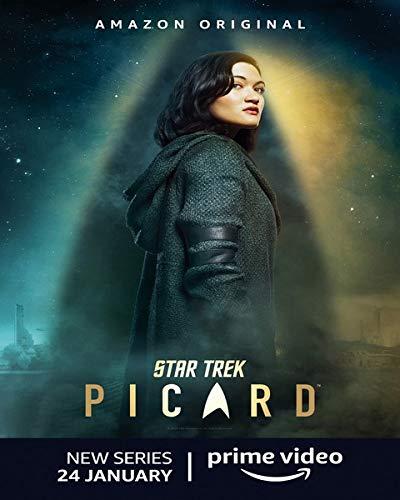 Star Trek Picard Tv Series - Poster cm. 30 x 40