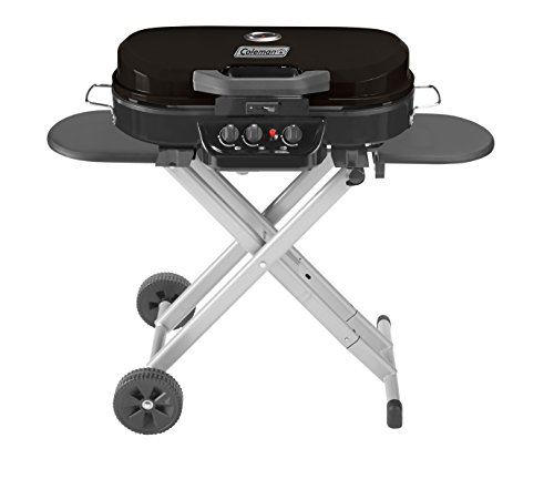 Coleman Gas Grill | Portable Propane Grill | RoadTrip 285 Standup Grill, Black