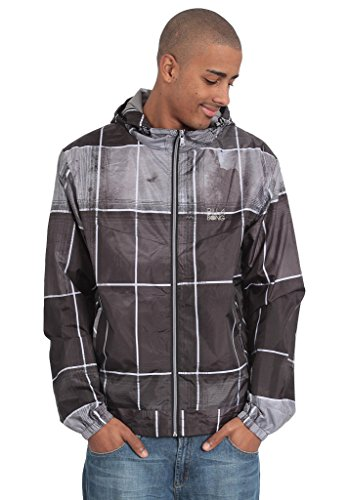 Billabong Herren Windjacke 4TH Whistle, Grey, L, G1WD03_17