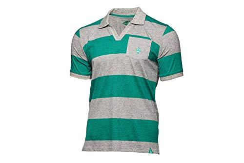 Werder Bremen SV GOTS Poloshirt Streifen Gr. XL