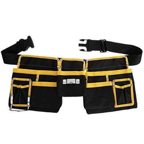 Organizador multifuncional del tenedor del almacenamiento del cinturón de la bolsa de la cintura del bolso de las herramientas del electricista