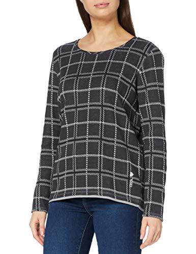 Cecil Damen B315394 T-Shirt, Carbon Grey, Medium