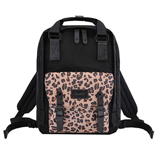 Himawari School Waterproof Backpack 14.9' College Vintage Travel Bag for Women,14 inch Laptop for Student (HIM-62#)