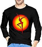 Photo de Thimd Dave Matthews Band T-Shirt d'extérieur Confortable à Manches Longues Doux pour Hommes 100% Coton T-Shirts d'impression Tee Black
