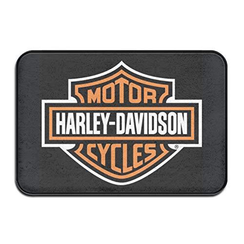 Harley Davidson - Felpudo para puerta exterior, interior