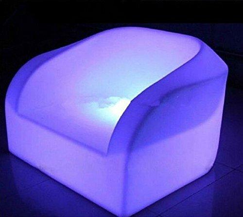 Gowe Down meubles LED Lumineux LED rechargeable étanche Fauteuil Canapé Décoration de votre Salon, chambre, jardin, bar, terrasse,