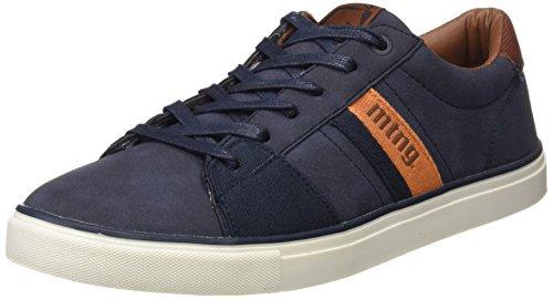 MTNG Mountain, Zapatos de Cordones Derby Hombre, Azul (Vertigo Marino/Canvas Marino/Naranja), 42 EU