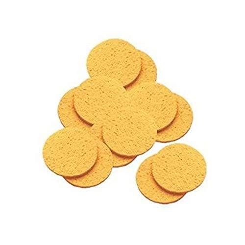 12 Pack Facial Sponge Natural Cellulose Mask Removing Sponges Cleansing Facial Sponges
