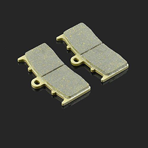 Fast Pro 81 x 45,9 X 7.7 mm 1 Paire de Plaquettes de Frein Avant pour BMW R 850 R 04–06 R 1100 S 00–06 12 R 1200 R 07–13 K 1300 R 09–12 Kawasaki ZRX 400 98–01