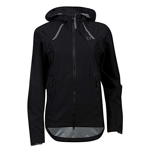 PEARL IZUMI Women's Monsoon WxB Jacket, Black, M