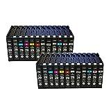 Reemplazo de Cartucho de Tinta remanufacturado para Canon PGI-29PBK / MBK/C/M/Y/R/GY/LGY/DGY/PC/PM/CO para Usar con la Impresora PIXMA Pro-1 Two Sets