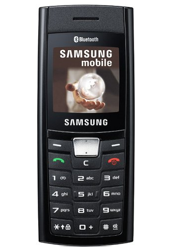 Samsung SGH-C180 Handy (Dualband, Bluetooth) schwarz