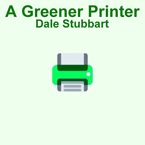 A Greener Printer cover art