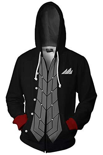 Tollstore Persona 5 cospay Akira Kurusu Kapuzenjacke Hoodie Pullover Sweatjacke Kapuzenpulli Jacke Pullovershirt M