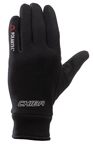 Chiba Polartec Fahrrad Handschuhe schwarz 2016: Größe: L (9)
