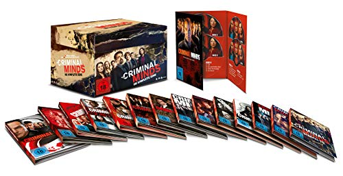 Criminal Minds - Komplettbox Staffel 1-15 (78 Discs)