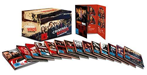 Criminal Minds - Komplettbox (Staffel 1-15) (78 DVDs)