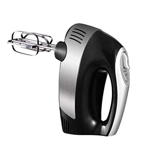300 W Handmixer, professioneller elektrischer Handmixer zum Backen – 7 Geschwindigkeiten Funktion mit Turbo-Funktion, inklusive Edelstahl-Schlägel und Knethaken