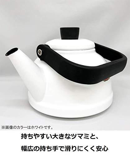 富士ホーローケトルソリッド2.3LレッドSD-2.3K・R