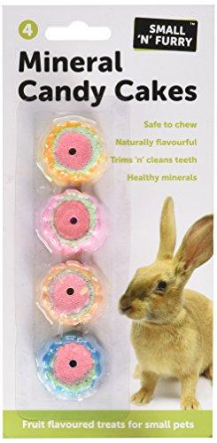 Small N Furry - Pietre minerali per piccoli animali - Pacco da 4 (Pacco da 4) (Assortito)